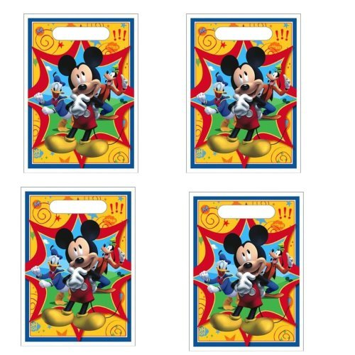 Disney Mickey Mouse Fun & Friends Treat Bags - 24 Pieces