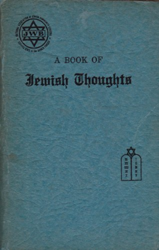 a-book-of-jewish-thoughts-selected-and-arranged-by-joseph-herman-hertz-abridged-edition-for-jews-in-