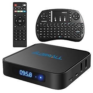 Globmall Android 6.0 Smart TV Box with Mini Wireless