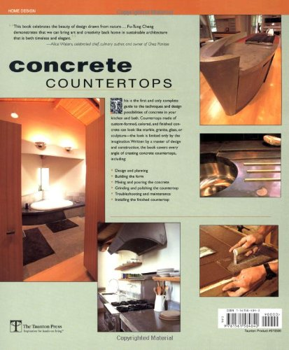 Concrete Countertops: Design, Forms, and Finishes for the New Kitchen and Bath - smallkitchenideas.us