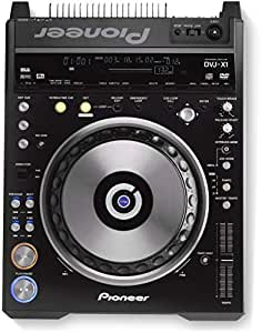Pioneer DVJ-X1 Pro DVD CD 32 MB SD Movable Memory Card Real-Time Digital video manipulation, Realtime Seamless Looping and Instant Cues Video and Audio Streams Video Deck Player