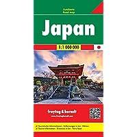 Japan, Autokarte 1:1 Mio, freytag & berndt Auto + Freizeitkarten