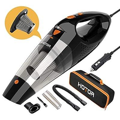 HOTOR B07FXRRHWT Car Vacuum, Orange