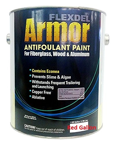 - US Marine Products LLC FLEXDEL CORPORATION Flexdel Armor Copper-Free Antifouling Bottom Paint RED GALLON