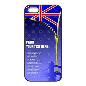 British Flag iPhone 4 4s Cell Phone Case Black 05Go-167350