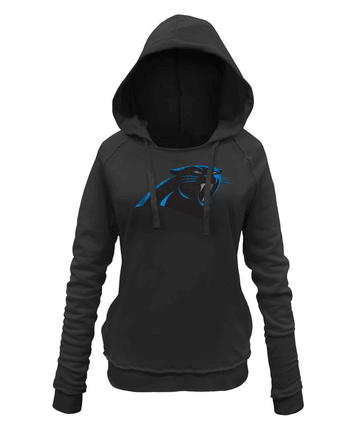 314d7b09 Amazon.com : New Era Carolina Panthers Women's NFL Post Route ...