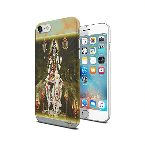 Shiva Case - Shiva Lord Hindu God- iPhone 7 Clear Cover Case by Elements of Space