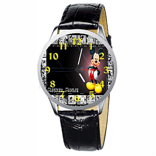 LCW047-2 New Mickey Mouse Stainless Wristwatch Wrist Watch Watch Mickey Mouse Christmas