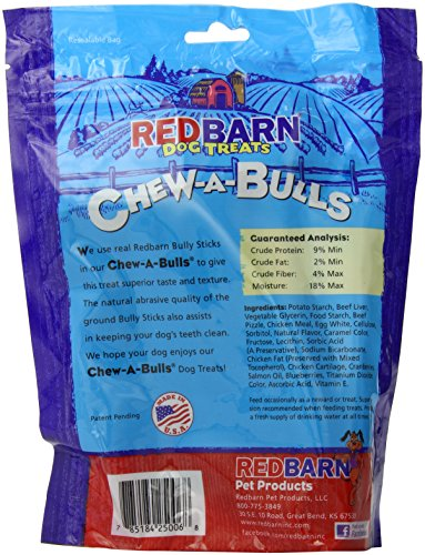 redbarn pet products 785184250068 redb chew a bulls alt 6 pack bag price reviews user. Black Bedroom Furniture Sets. Home Design Ideas