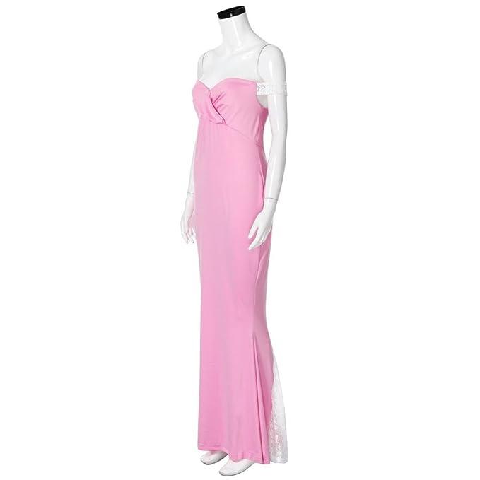 OVERMAL Damen Schwangere Fotografie langes Kleid Schwangere Kleidung ...