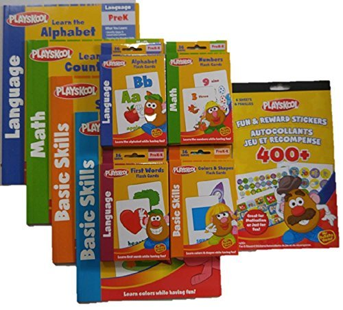 - Playskool Flash Cards Value Pack with Reward Stickers