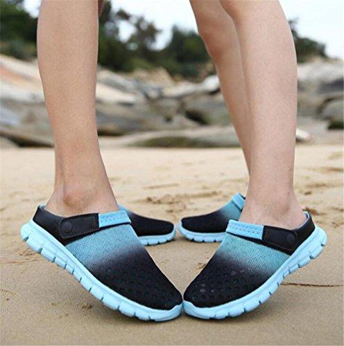 Toe 45 Beach Antiscivolo Scarpe Uomo 36 Closed Donna Pantofole Casual Summer Mesh Infradito Sandali Taglia NSLXIE EU45 Z8Rw7
