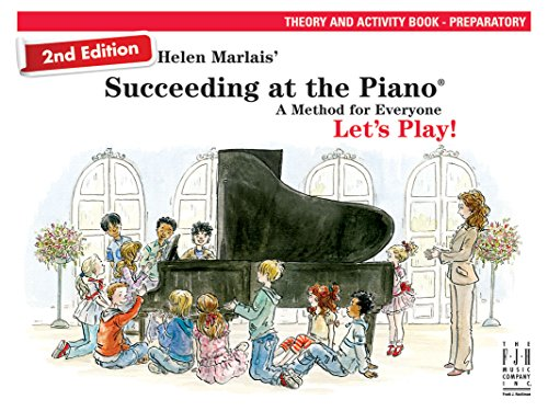 Succeeding at the Piano Theory and Activity Book (Preparatory Level) 2nd edition (At Succeeding The Piano Christmas)