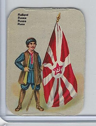 Z0-0 Card, Flags & Costumes of Nations, -