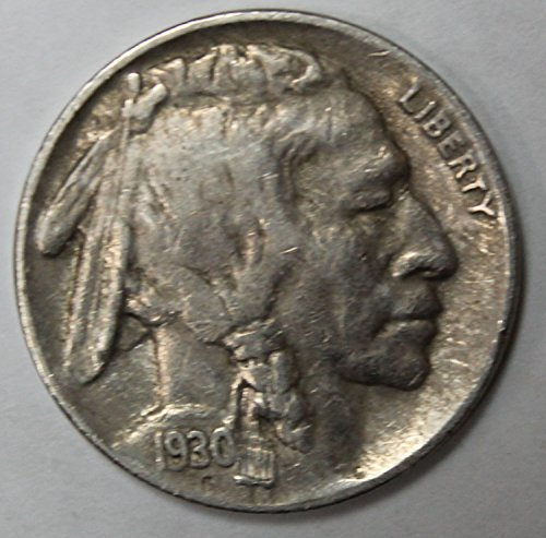 1930 S Buffalo Nickel 5c Extremely Fine-About ()
