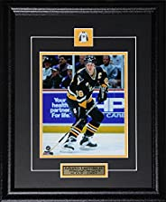Mario Lemieux Pittsburgh Penguins 8x10 NHL Hockey Memorabilia Collector Frame