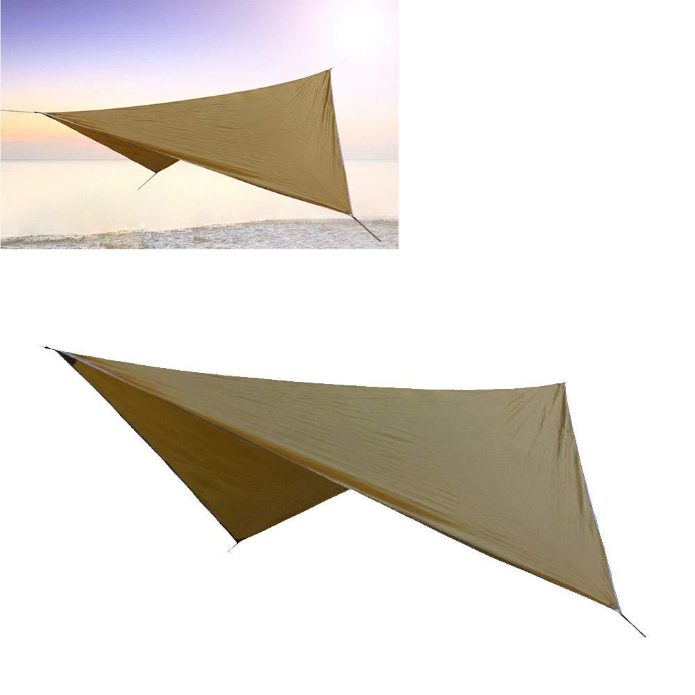 YaptheS Acampar Lona Impermeable Mat Ligera Huella Carpa Manta para Picnic de excursi/ón Que acampa 1PC