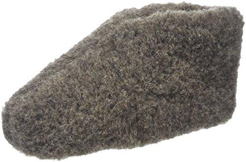 Woolsies Wappa, Zapatillas de Estar por Casa Adultos Unisex, Gris (Grey), 39 EU