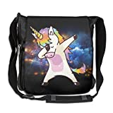 NYYSBU Crossbody Messenger Bag Hip Hop Unicorn Rainbow Shoulder Tote Sling Postman Bags One Size