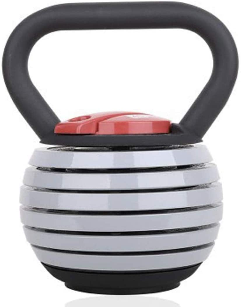NA JBFIT Adjustable Kettlebell 40LBS Kettle Bell CrossFit Gym Fitness HIIT Workout Muscle Weightloss - 10LBS 18.1KG 4KG