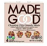 Made Good Granola Minis Chocolate Chip, 24 gram, (Pack of 6)
