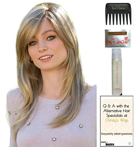 Miranda Wig by Amore, 15 Page Christy's Wigs Q & A Booklet, 2oz Travel Size Wig Shampoo, Wig Cap & Wide Tooth Comb COLOR SELECTED: ICED MOCHA ()