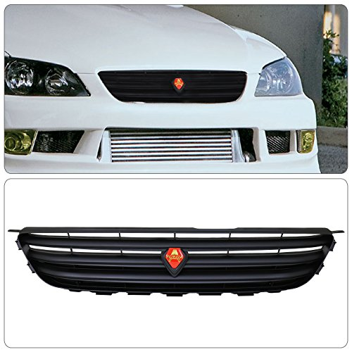 Lexus Is300 Front Black Upper Hood Altezza Abs Grill