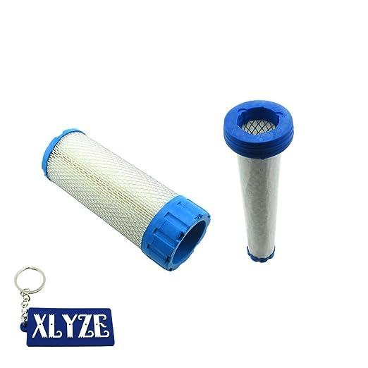 xlyze Filtro de aire con prefiltro para John Deere z830 a z850 a ...