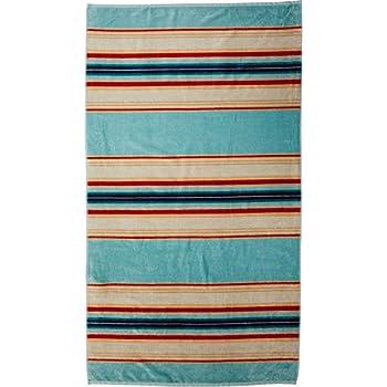 Pendleton Over-Sized Cotton Beach Towel, Silver Bark