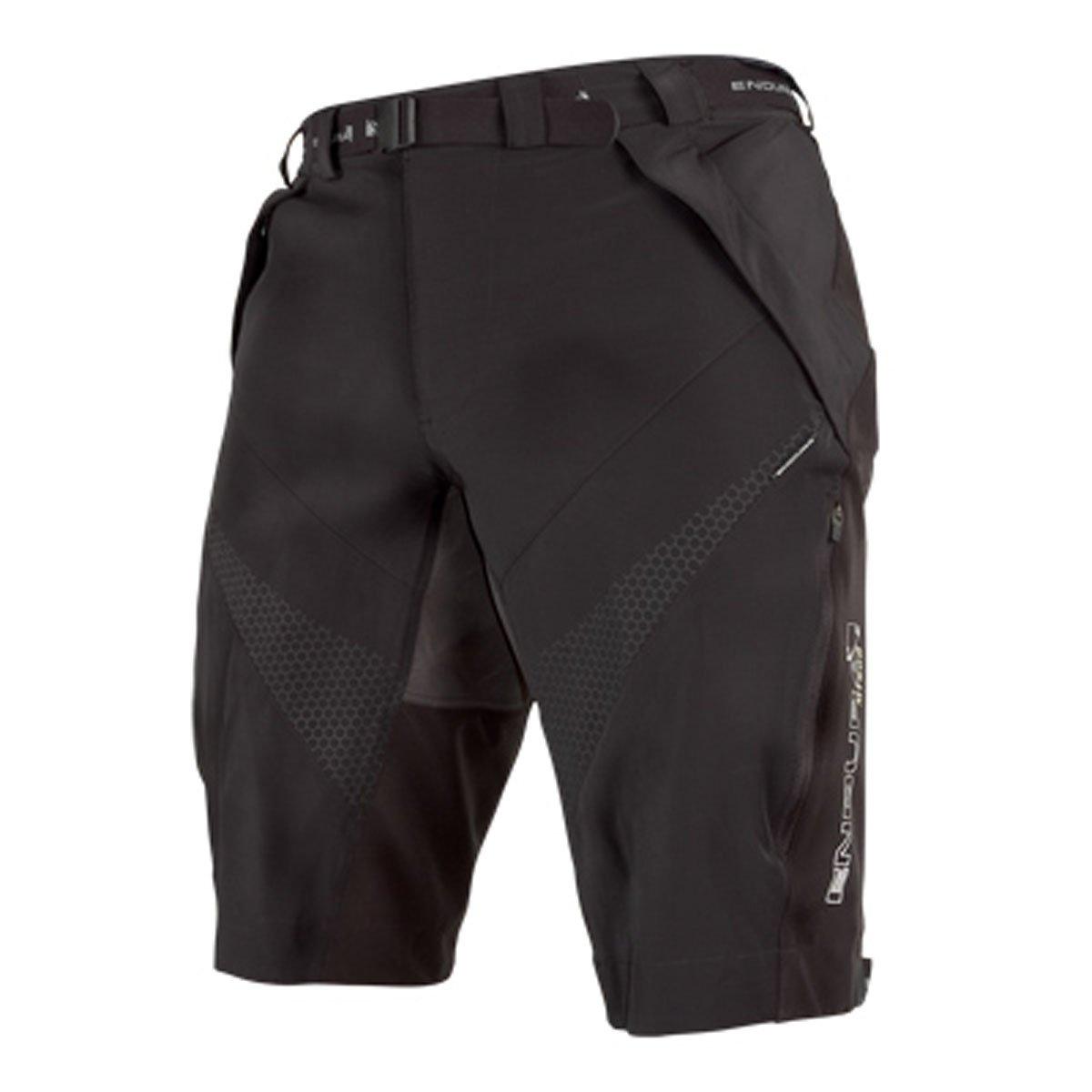 ENDURA–MT500Spray baggyshorts, Non Liner/wproof Rear, Colore: Nero, Taglia XL E8014/6
