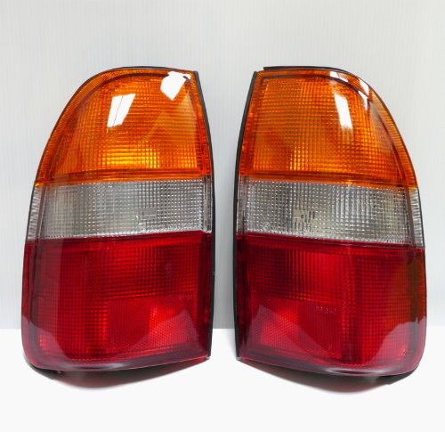 2x Mitsubishi Triton Mk 96-01 Pair New Tail Lights Lamp 1995-2003 Rear 1997 L200
