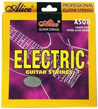 Alice Set de Cuerdas Guitarra Eléctrica AW508L Calibre Regular 10 (010-.046)