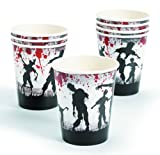 Zombie Party Paper Cups (8 Count)