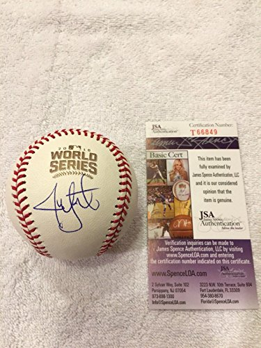 - Autographed Jon Lester Baseball - 2016 OFFICIAL WORLD SERIES CHAMPION - JSA Certified - Autographed Baseballs