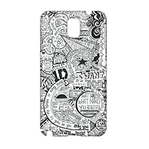 Fortune one direction lyrics 3D Phone Case for Samsung Galaxy Note 3
