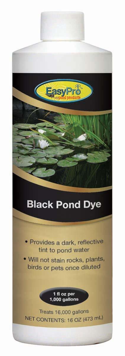 EasyPro Products PD16B Black Pond Dye, 16000-Gallon