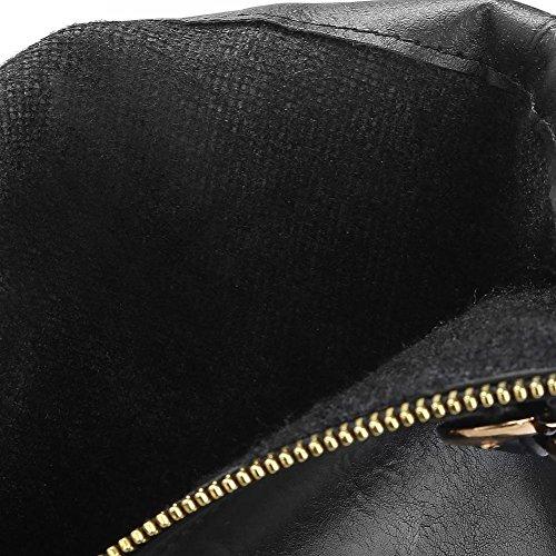 Agodor Bas Noir Femme Noir Femme Agodor Noir Bas Uwz4BPSqHn