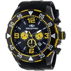 Seapro Men's SP1124 Diver Chronograph Analog Watch