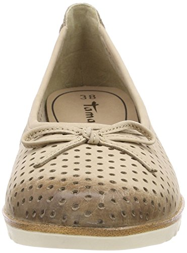 Tamaris Women's 22121 Closed-Toe Pumps Brown (Antelope) NCMumfJRKw