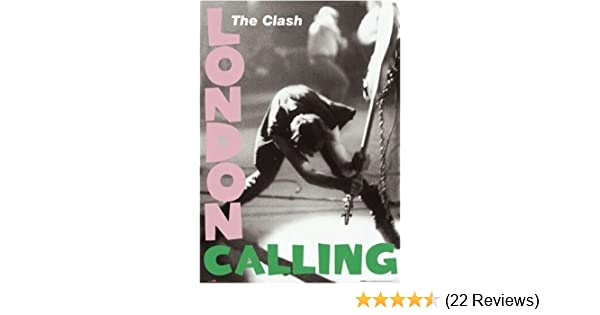 Amazon.com: RhythmHound The Clash Poster London Calling 24 by 36: Prints: Posters & Prints