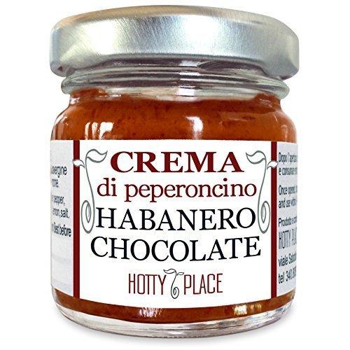 8 opinioni per Crema HABANERO CHOCOLATE Peperoncino Piccante MEDIO Molto Aromatico VASO VETRO