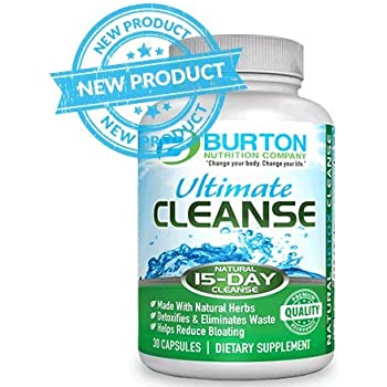 Amazon.com: 15 Day Ultimate Cleanse by Burton Nutrition