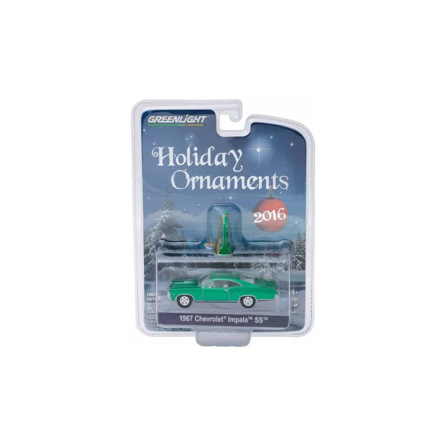 2016 Greenlight Holiday Ornament 1967 Chevrolet Impala SS