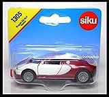 ware 1305 - Siku 1305 Bugatti EB 16.4 Veyron Diecast Car Scale About 1/64 New RED / WHITE /item# G4W8B-48Q772