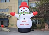 8M/26' Lovely Giant Outdoor Christmas Inflatable Snowman Christmas Decoration