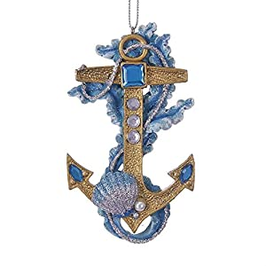 51gcfqVZaWL._SS300_ 75+ Anchor Christmas Ornaments