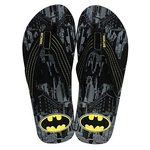 Batman Heren Stad Print Flip Flops
