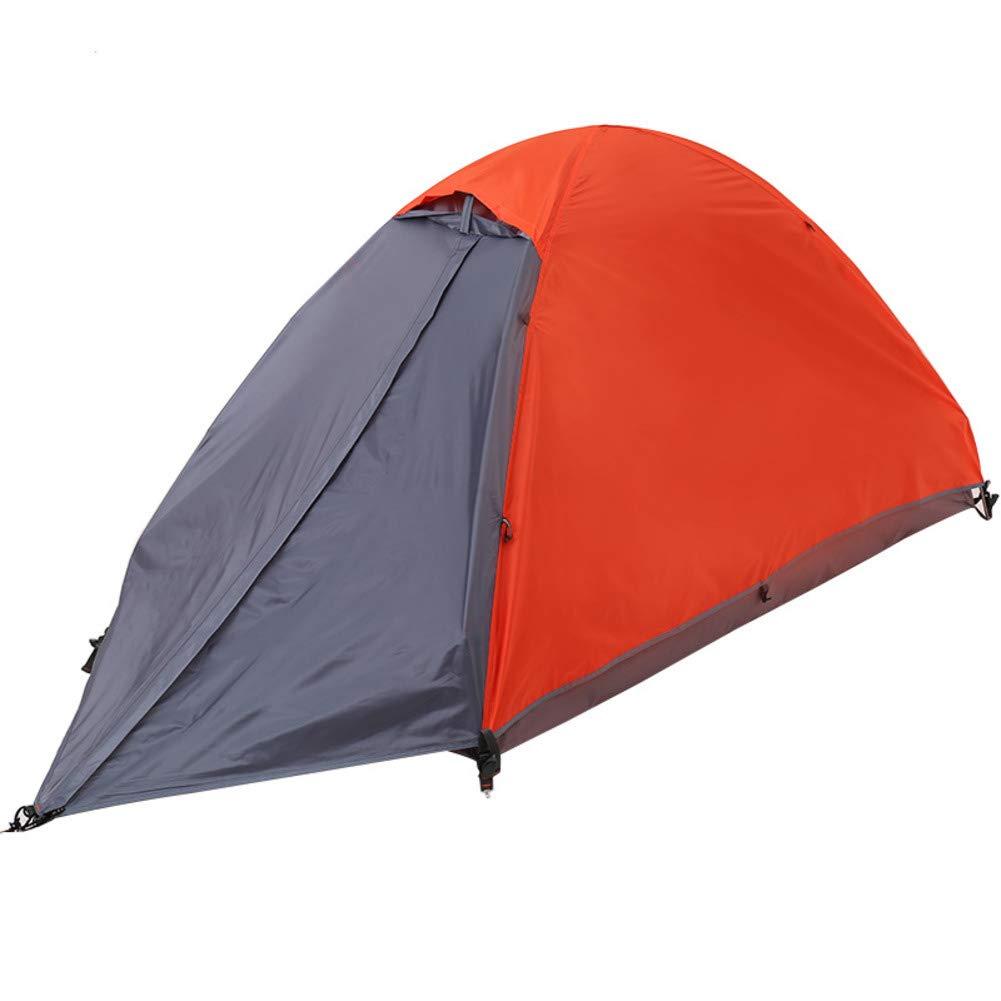 DULPLAY Doppio Strato Impermeabile Tenda da Campeggio, Immediata per Famiglia Pop-up Ventilato Multifunzione per Campeggio-C 210x110x110cm(83x43x43inch)