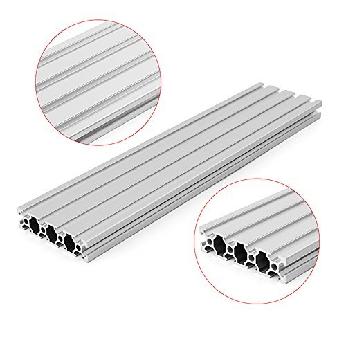 2080 T-Slot Aluminum Profiles Extrusion Frame,200mm Length by SENREAL