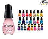 Lot of Sinful Colors Finger Nail Polish Color Lacquer All Different Colors (10)